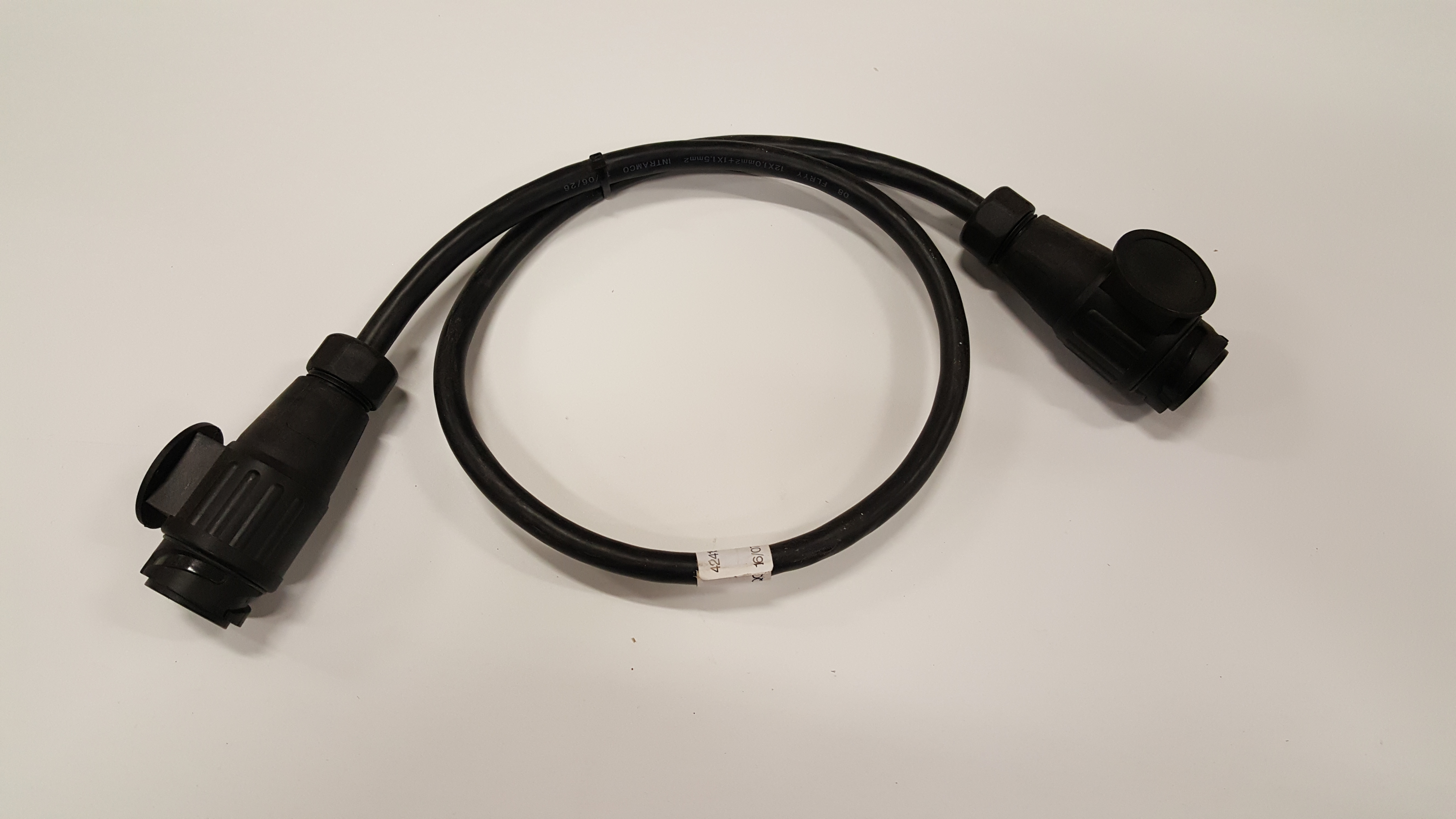 Stekker Kabel 130poli 100cm Brouwer Onderdelen Shop Stekker130poli100cm 1